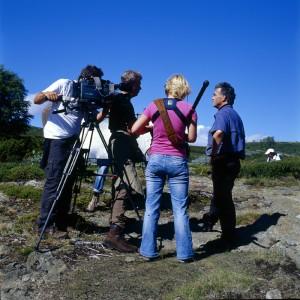 Das NDR-Team auf dem Dovrefjell
