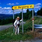 Auf dem Weg nach Lillehammer.