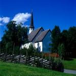 Die Skaun-Kirche